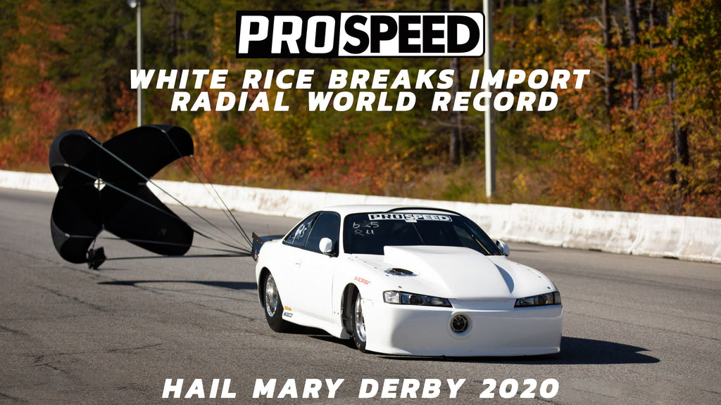 White Rice Sets a New World Record at The Hail Mary Derby 2020!