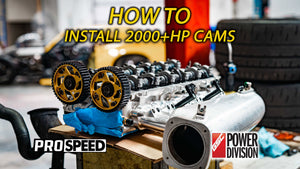 How to Install GSC Power-Division Billet R2M Cams