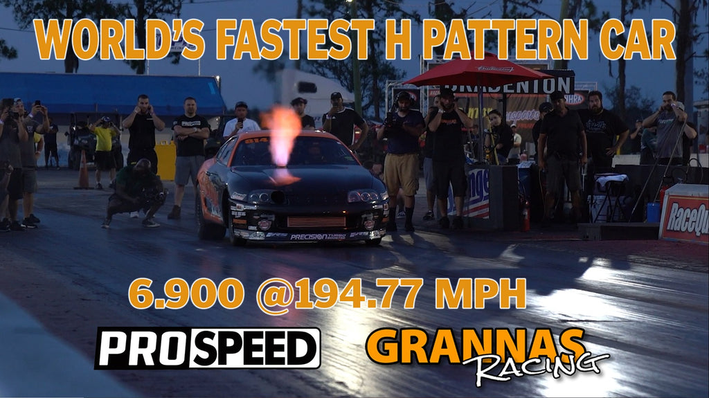 WORLD'S FIRST H-PATTERN CAR IN THE 6'S