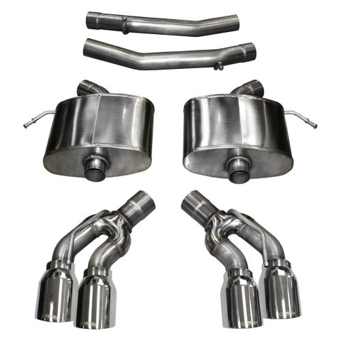 Corsa Performance Axel-back Exhaust System | Gen 3 CTSV