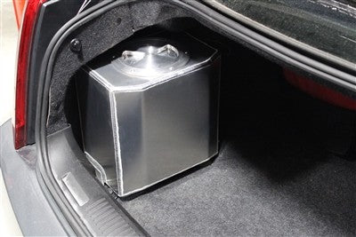 PROSPEED GEN 2 CTS-V 6 GALLON TRUNK MOUNTED ICE TANK WITH BILLET LID KIT AND INTERNAL RULE 3700 WATER PUMP