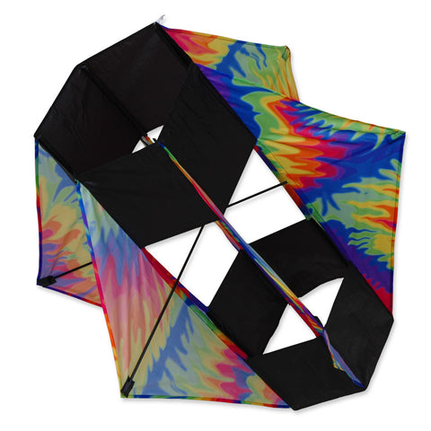 Six Wing Box  Kite- Tie Dye