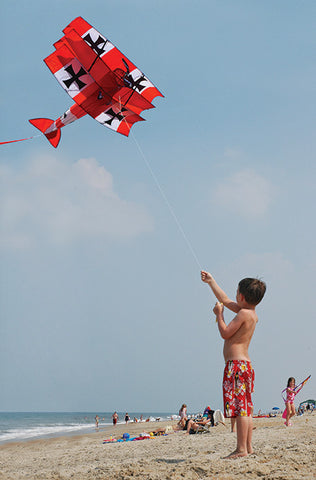 Red Baron Tri-Plane Kite