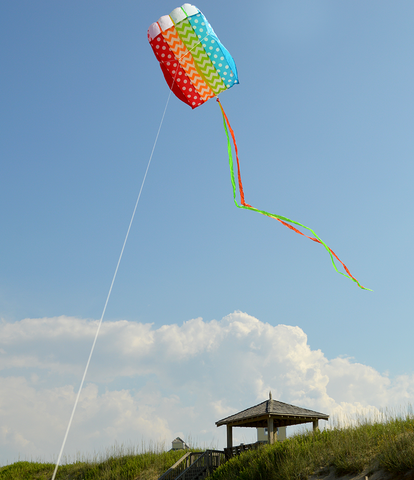 Parafoil 5 Kite - Pattern Rainbow