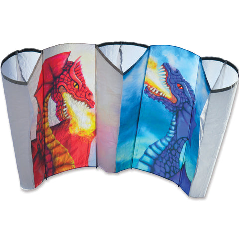 Large Power Sled 24 Kite - Sun & Moon Dragons