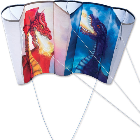 Jumbo Power Sled 36 Kite - Sun Moon