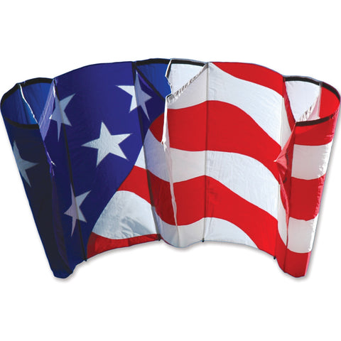 Jumbo Power Sled 36 Kite - Patriotic