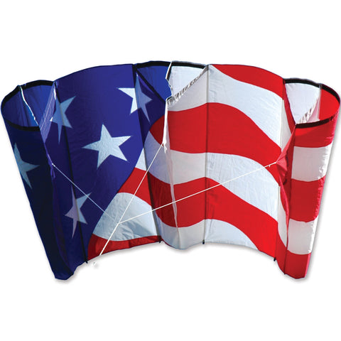 Large Power Sled 24 Kite - Patriotic