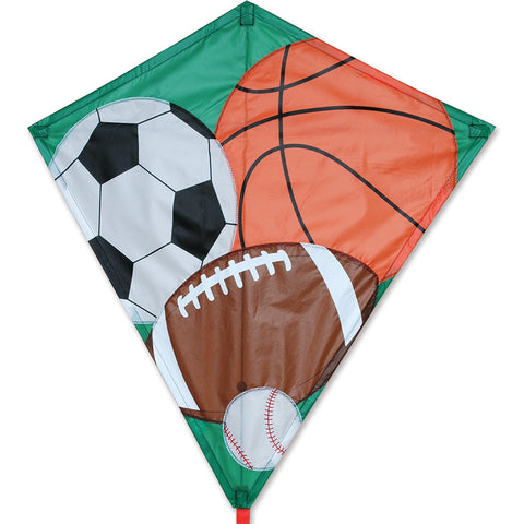 30 in. Diamond Kite - Sports