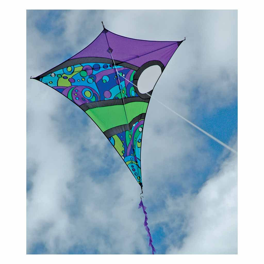 kites designs products borealis orbit diamond kite cool premier