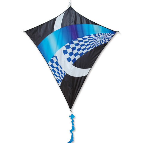 Borealis Diamond Kite - Cool Tronic Gradient