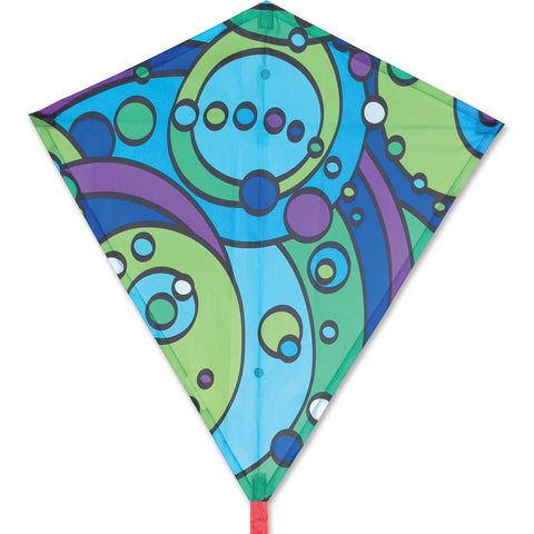 30 in. Diamond Kite - Cool Orbit