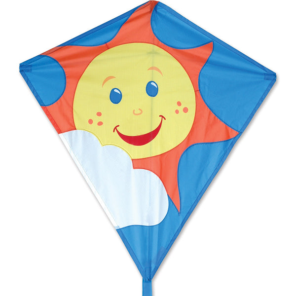30 in. Diamond Kite - Sun