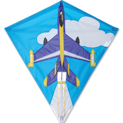 30 in. Diamond Kite - Jet Plane