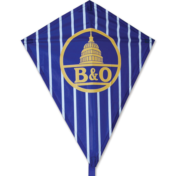 25 in. Diamond Kite - B&O Logo Kite