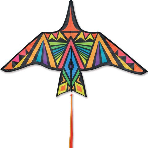 Thunderbird Kite - 60 in. Rainbow Geometric