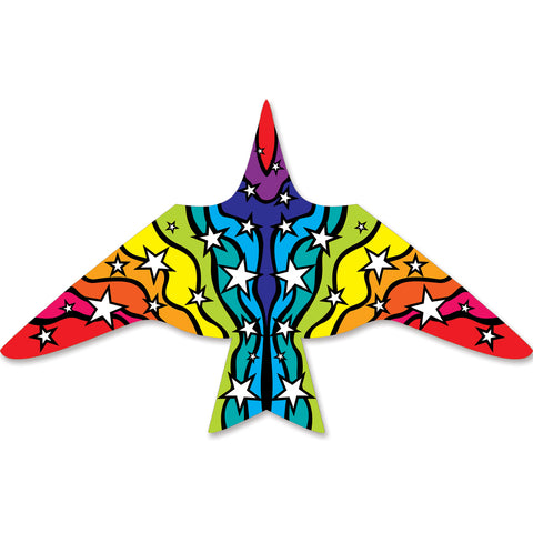 Thunderbird Kite - 11.5 ft. Rainbow Stars