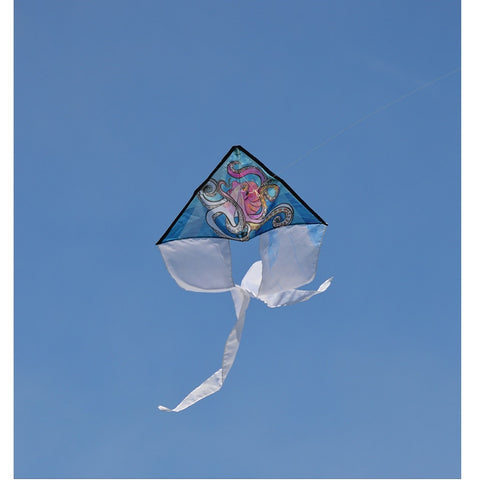 Coloring Kite - Octopus