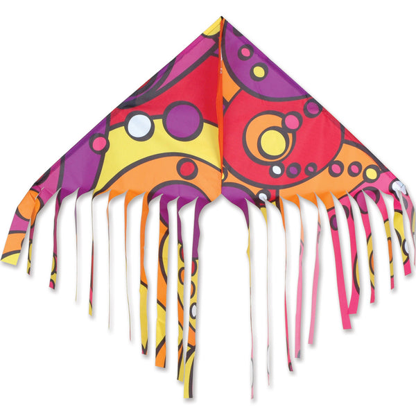 Fringe Delta Kite - Warm Orbit