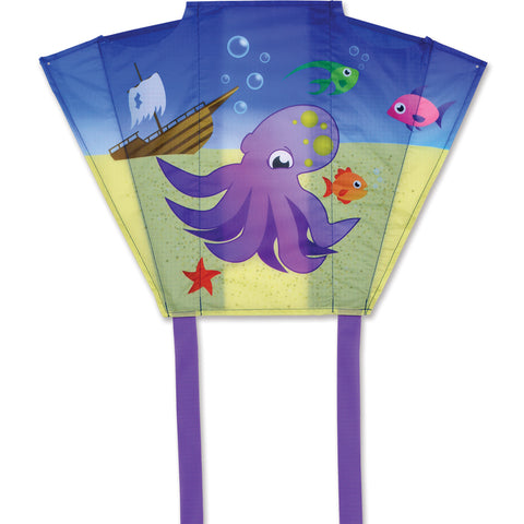 Mini Back Pack Sled Kites - Octopus (Set of Six Sleds)