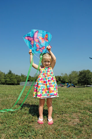 Mini Back Pack Sled Kites - Butterflies