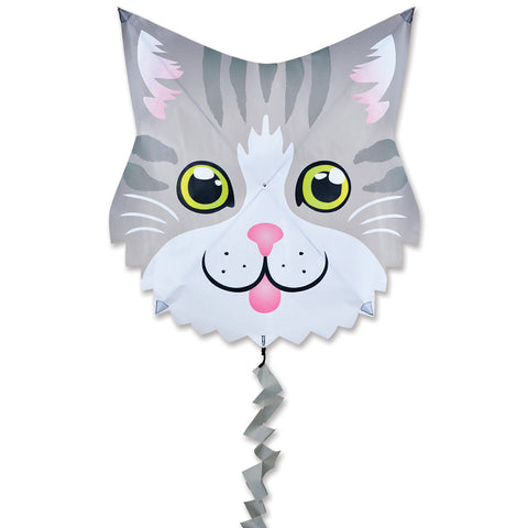 Fun Flyer Kite - Gray Cat