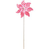 7 in. Pinwheel - Gingham (Set of 24)