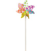 7 in. Pinwheel - Flowers (Set of 24)