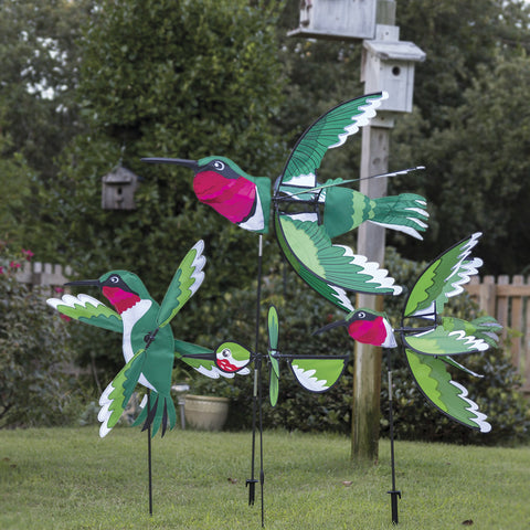 24 in. Ruby Throated Hummingbird