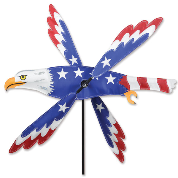 25 in. WhirliGig Spinner - Patriotic Eagle