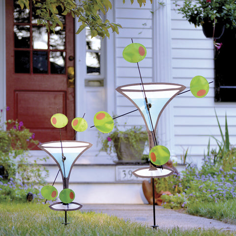 14 in. WhirliGig Spinner - Martini