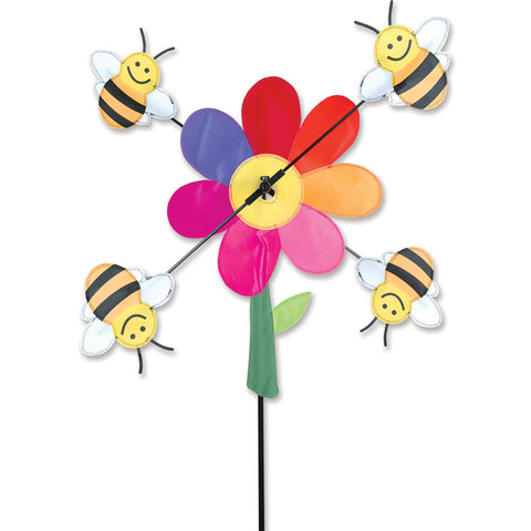 20 in. WhirliGig Spinner - Bumble Bees