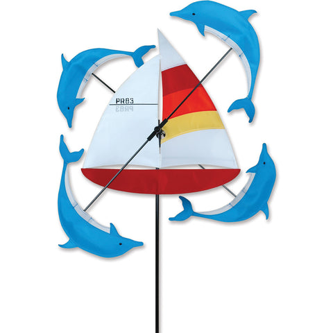 18 in. WhirliGig Spinner - Sailboat