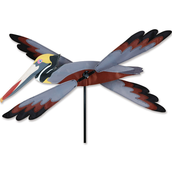 23 in. WhirliGig Spinner - Brown Pelican