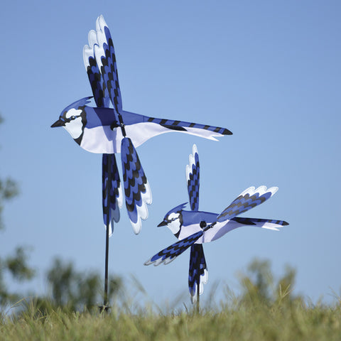 18 in. WhirliGig Spinner - Blue Jay
