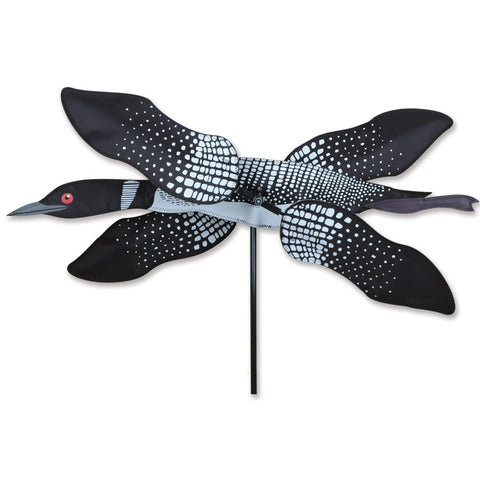 28 in. WhirliGig Spinner - Loon