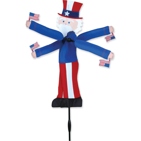 20 in. WhirliGig Spinner - Uncle Sam