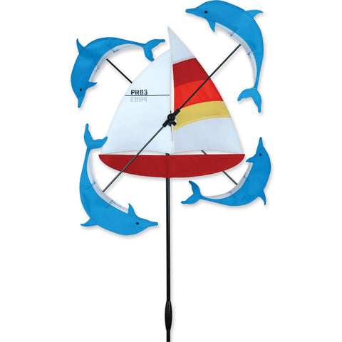 13 in. WhirliGig Spinner - Sailboat
