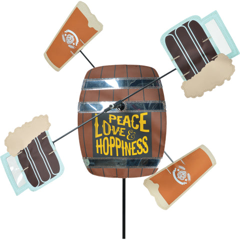 WhirliGig Spinner - Peace, Love and Hoppiness
