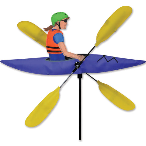 20 in. WhirliGig Spinner - Lady Kayaker