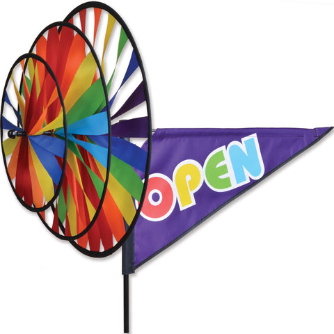Triple Spinner - Rainbow Open