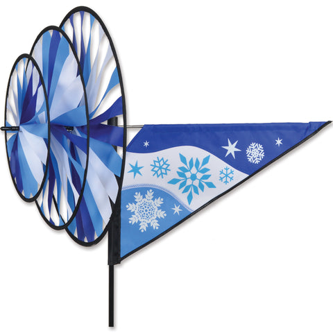 Triple Spinner - Snowflake