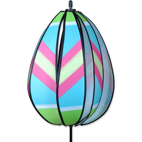 Spinning Egg Spinner - Green & Pink