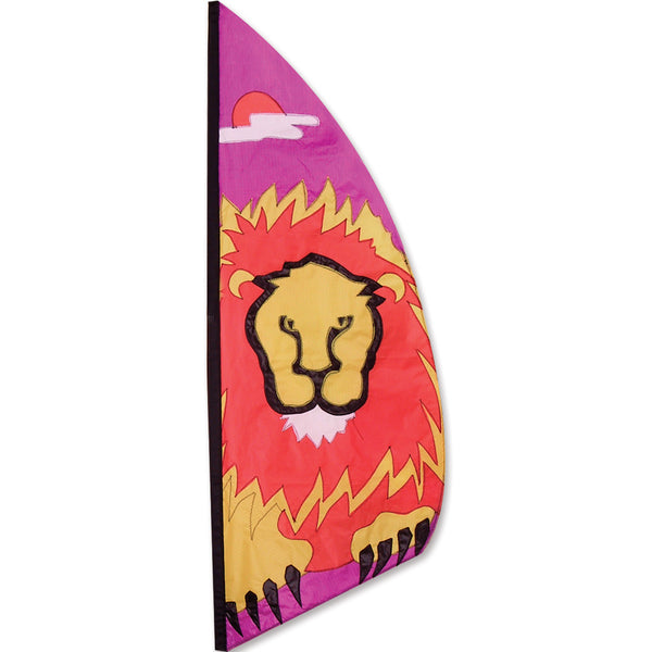 3.5 ft. Feather Banner-Lion