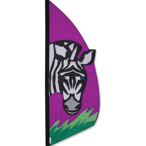 3.5 ft. Feather Banner-Zebra