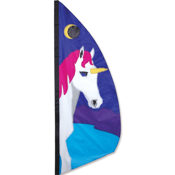 3.5 ft. Feather Banner - Unicorn