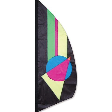 3.5 ft. Feather Banner-Neon Prizm