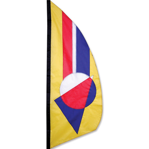 3.5 ft. Feather Banner-Classic Prizm