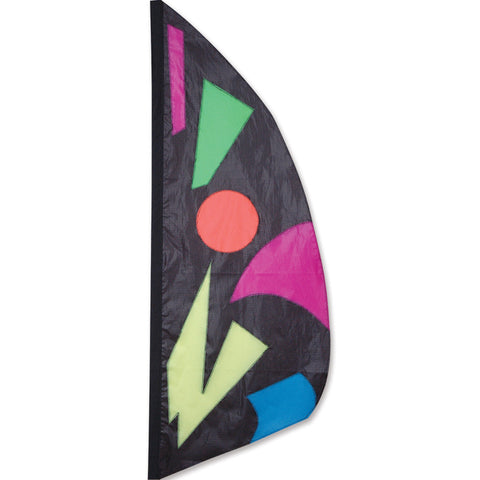 3.5 ft. Feather Banner-Midnite Jazz