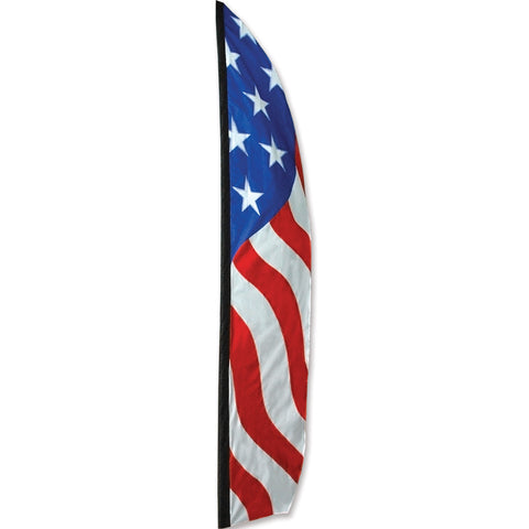 16 ft. Feather Banner - Patriotic/Solarmax